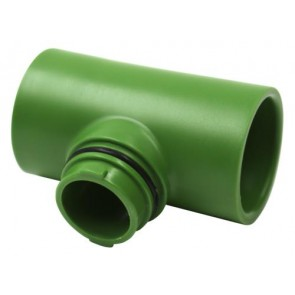 "FloraFlex Flora Pipe Fitting Only - 1"" Tee"