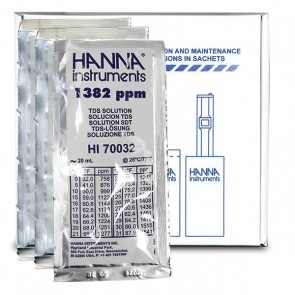 1382 PPM Calibration Solution - 20 mL Sachet