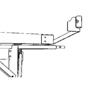 4ft x 8ft / 4ft x 4ft Low Tide Bottom Mount for Rolling Bench System (set of 4)