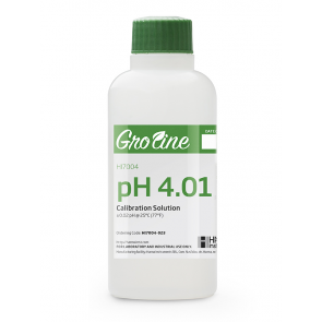 GroLine pH 4.01 Calibration Solution - 230ml