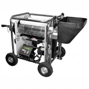 Zoom Double Barrel Dry Trimmer Complete with Vacuum System