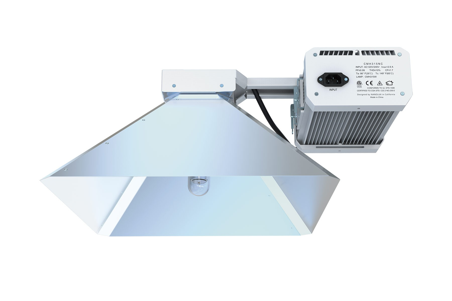lamp k w i grow fixture light system lec image sun volt commercial