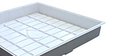 Plastic Hydroponic Grow Trays