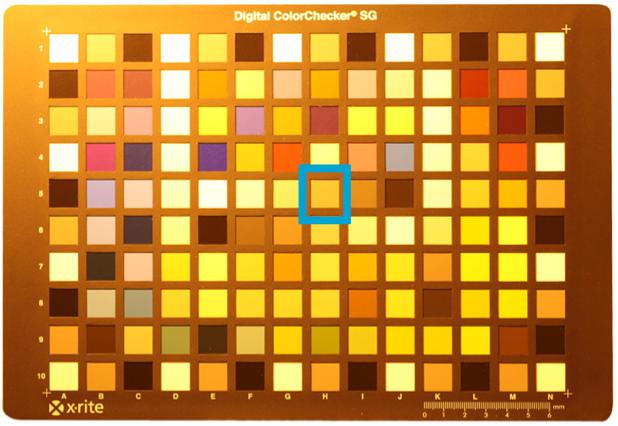 M7 Color Chart HPS