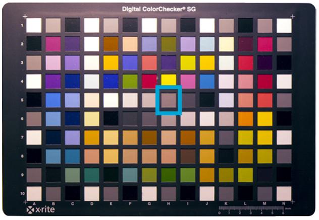 M7 ColorChart Zeiss Fusion Polycarbonate Lens